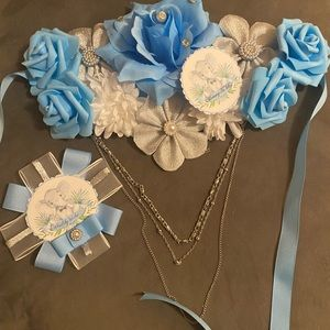 Maternity sash set 125